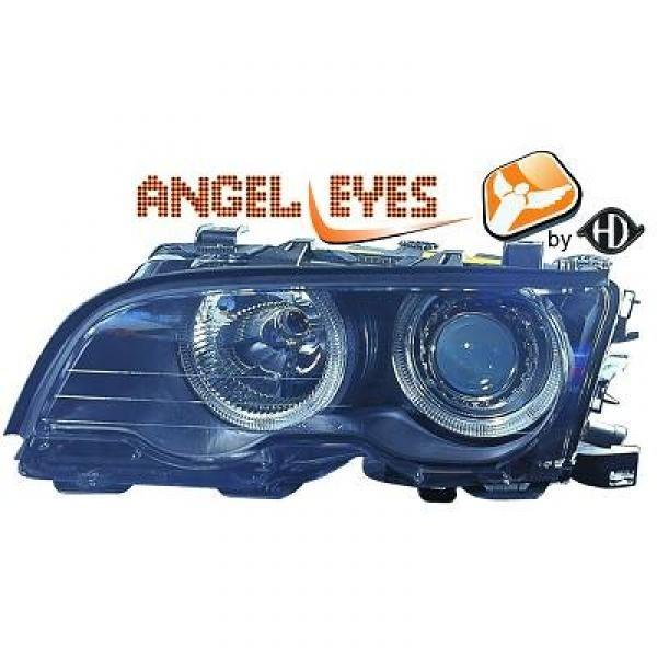 Scheinwerfer / Frontleuchte mit Standlichtringen BMW 3-Reihe (E46) Coupe/Cabrio 99-03