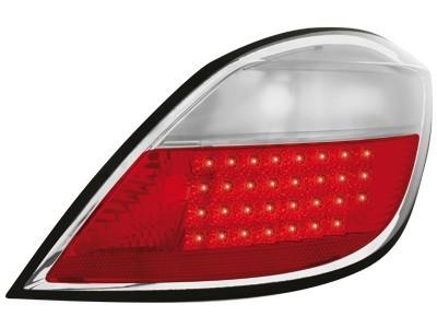 LED Rückleuchten Opel Astra H 5T 04+ rot klar
