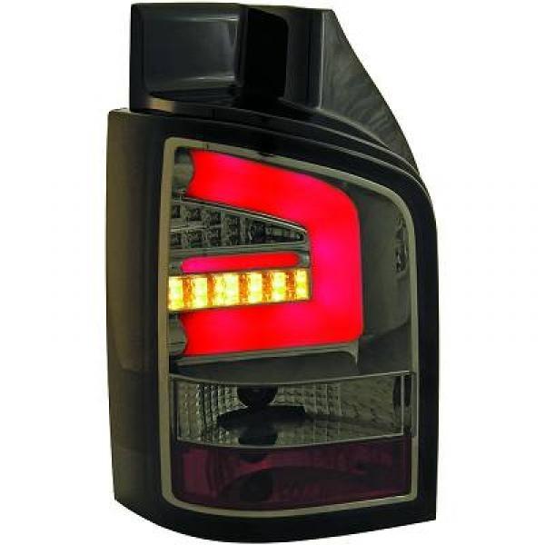 LED Rückleuchten VW T5/Multivan/Caravelle 03-09 Klarglas smoke