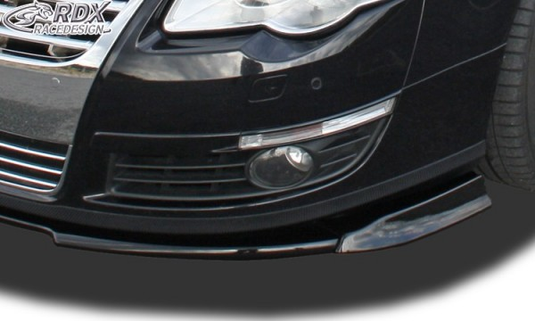 Frontspoiler VARIO-X VW Passat B6 / 3C Frontlippe Front Ansatz Vorne Spoilerlippe