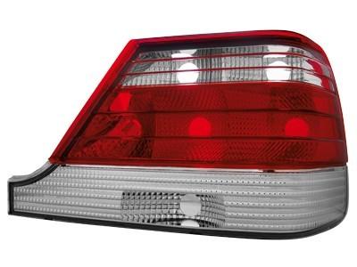 Rückleuchten Mercedes Benz W140 S-Klasse 97-99 rot klar