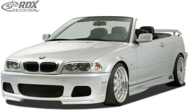 Scheinwerferblenden BMW 3er E46 Coupe / Cabrio (-2003) Böser Blick