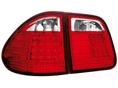 LED Rückleuchten Mercedes Benz W210 T-Mod. 96-03 rot klar