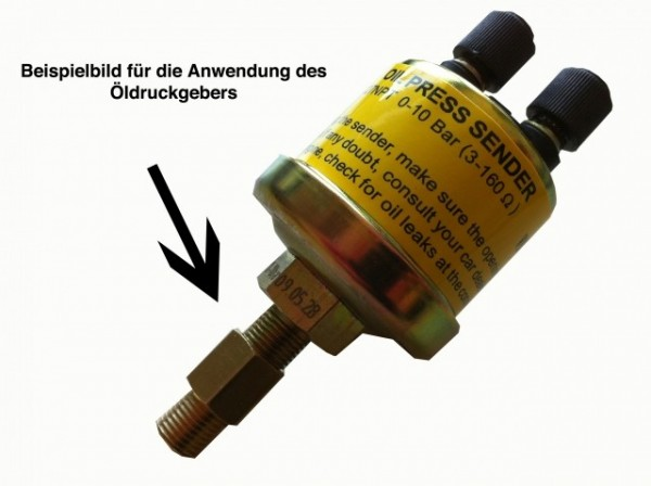 Adapter für Öldruckmesser M 10x1.0