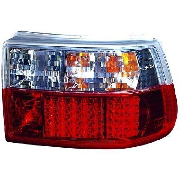 LED Rückleuchten Opel Astra F 91-97 Fließheck Rot-weiss