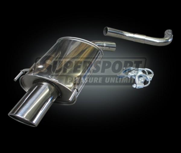 Sportauspuff Edelstahl Opel Vectra C Limousine (Z/C) 03/02- 1.6,1.8,2.0T,2.2DIRECT,2.2,1.9CDTI,2
