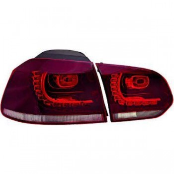 LED Rückleuchten VW Golf VI 08+ rot Rauch R-Look