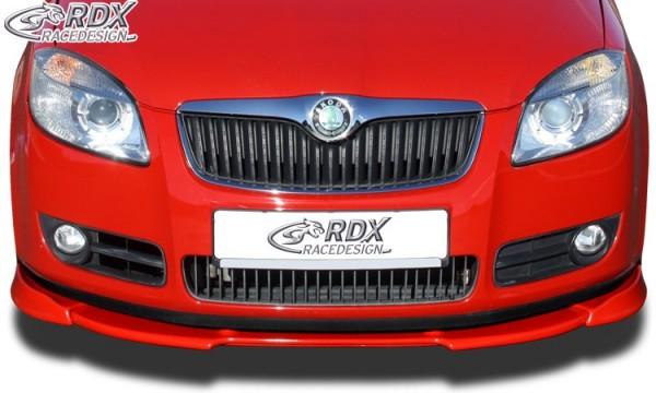 Frontspoiler VARIO-X SKODA Fabia 2 Typ 5J -2010 (auch für Roomster) Frontlippe Front Ansatz Vorne Sp