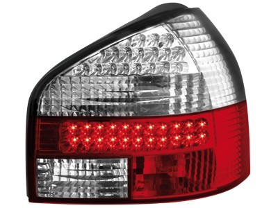 LED Rückleuchten Heckleuchte Audi A3 8L 09.96-04 rot klar