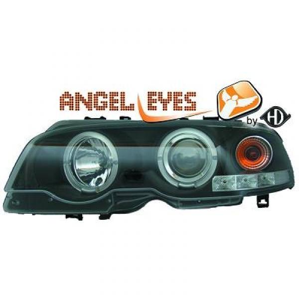 Scheinwerfer / Frontl. mit Standlichtringen BMW 3-Reihe (E46) Coupe/Cabrio 99-03
