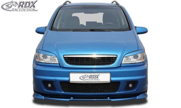 Frontspoiler VARIO-X Opel Zafira A OPC (Passend an OPC bzw. Fahrzeuge mit OPC Frontstoßstange) Front