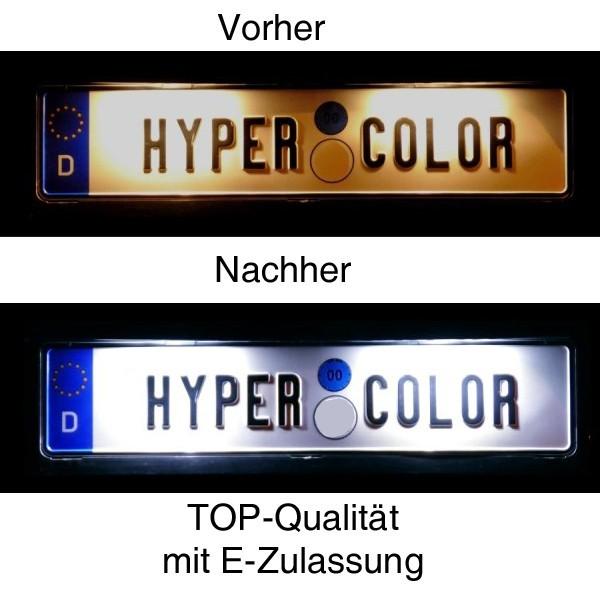 LED Kennzeichenbeleuchtung BMW E46 Cabrio + Coupe Bj. 04.2003-2007 ab Facelift