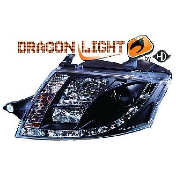 Scheinwerfer mit LED-Standlicht in Tagfahrlicht-Optik. Audi TT 8N Coupe/Cabrio 98-05