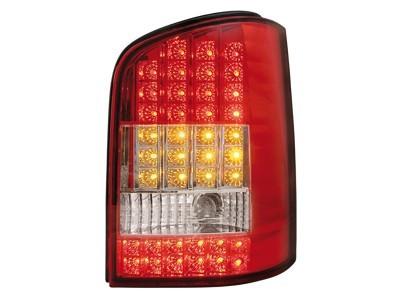 LED Rückleuchten VW T5 03-12/09 mit LED Blinker rot Klar