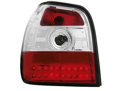LED Rückleuchten VW Polo 6N 95-97 rot klar