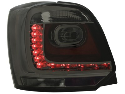 LED Rückleuchten VW Polo 6R 09+ Rauch