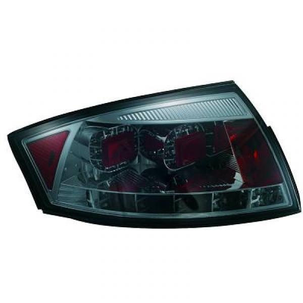 LED Rückleuchten Audi TT 8N Coupe/Cabrio 98-05 Klarglas smoke