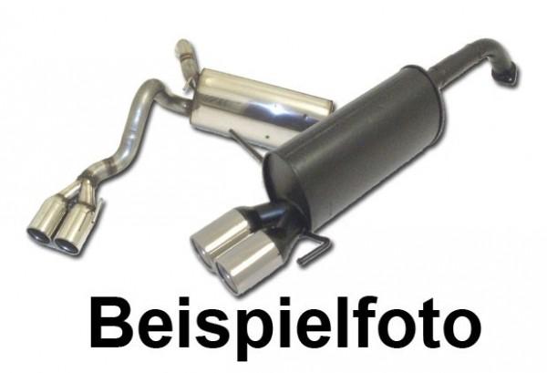Sportauspuff VW Golf IV Bj. 97-03 New Beetle & Cabrio Bj. 98-2011 1.4l 16V 55kW / 1.6l 74