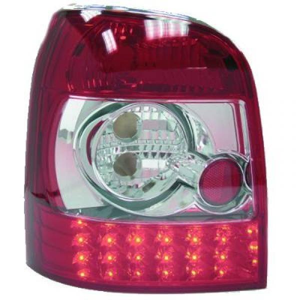 LED Rückleuchten Audi A4 B5/8D2 Avant 94-98 nicht für Limousine Rot-weiss