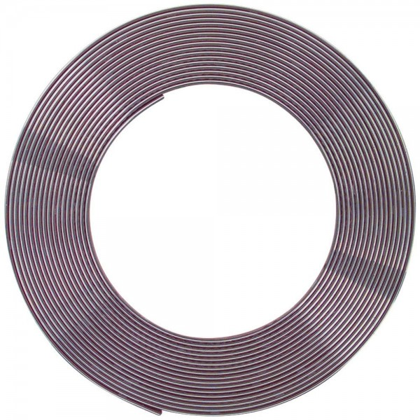 Chromzierleisten Zierleisten 21 mm superflexibel 5 Meter