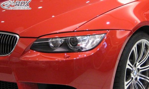Scheinwerferblenden BMW 3er E92 / E93 -2010 Böser Blick