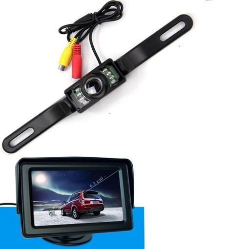 Rückfahrwarner / Kamera mit Farbmonitor, Einparkhilfe