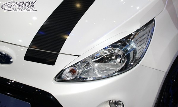Scheinwerferblenden Ford KA RU8 2008+ Böser Blick