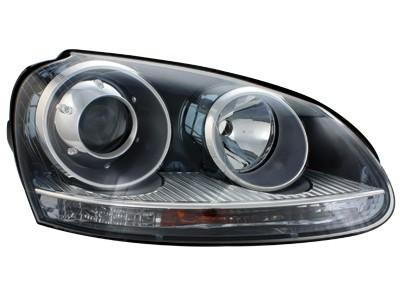 Scheinwerfer VW Golf V 03-07 GTI Look Xenon schwarz