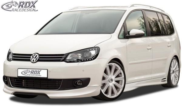 Frontspoiler VW Touran 1T1 Facelift 2011+ Frontlippe Front Ansatz Vorne Spoilerlippe
